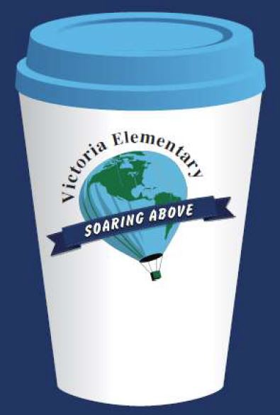 Coffee Cup with Victoria Logo